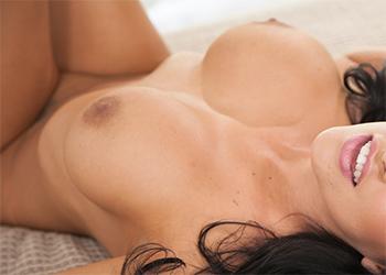 Lacie James strips nude