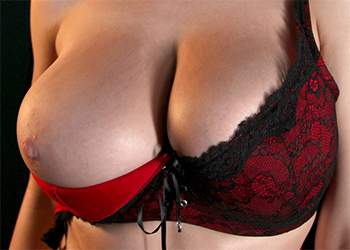 Lana Kendrick Red and Black Lace