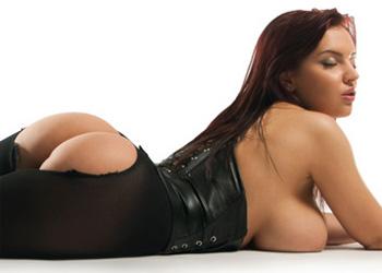 Lana Ivans Black Lingerie