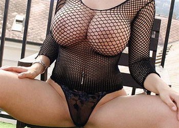 Laura Lion Fishnet