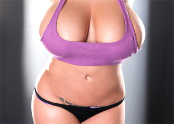 Leanne Crow Busty In Purple