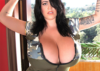 Leanne Crow Army Chick