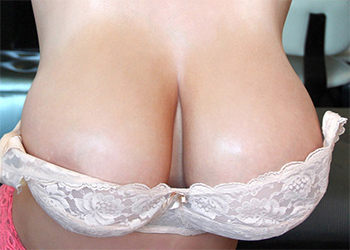 Leanne Crow Nude Bra Fun