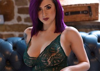 Lisha Blackhurst lingerie