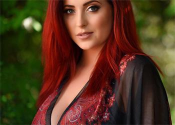Lucy Vixen Silk Robe