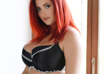 Lucy Vixen Black and Blue Lingerie