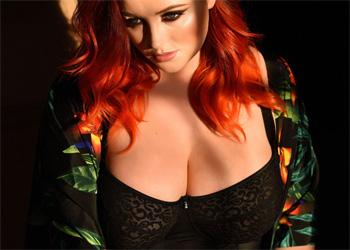 Lucy Vixen Teasing Black Bodysuit