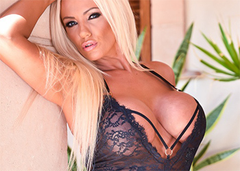 Lucy Zara Lace Basque MILF