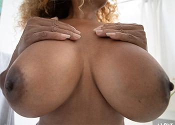 Mango Maddy bathroom boobs