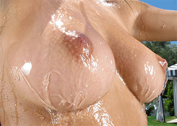 Megan Salinas Wet Girl