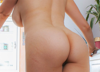 Natasha Dedov Nude Kitchen Curves