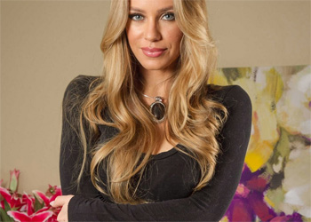 Nicole Aniston Black Dress