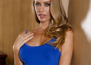 Nicole Aniston Blue Dress