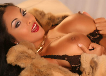 Nina Mercedez Fur Coat Babe