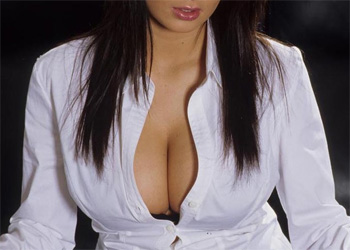 Busty Olga Cleavage