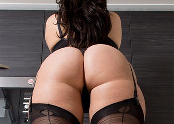 Paige Turnah sheer black nudes