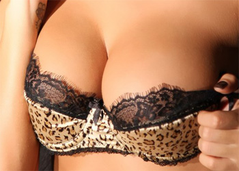 Peaches Leopard Lingerie Actiongirls