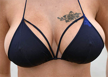 Peta Jensen Blue Bikini Tits