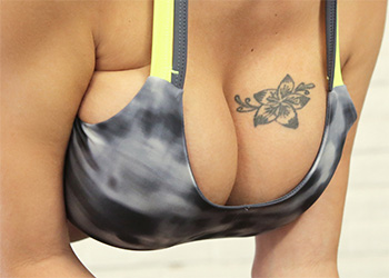 Peta Jensen big boob workout nf busty
