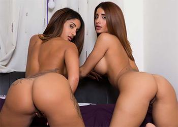 Preeti and Priya chill