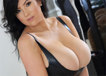Rachel Aldana Big Latex Tits