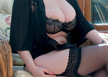 Rachel C Black Lingerie Curves