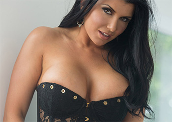 Romi Rain corset strip down