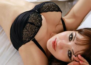 Savina Black Lingerie Femjoy