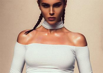 Silvia Caruso Sexy Model