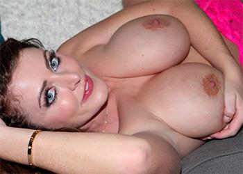 Sophie Dee pink lingerie