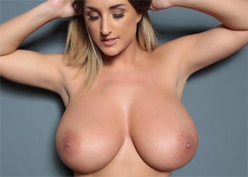 Stacey Poole Topless Lace Curves
