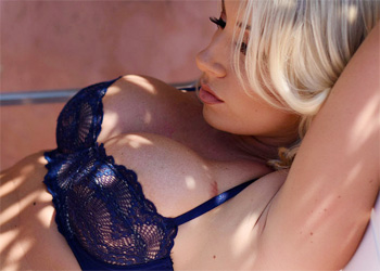 Stacey Robyn Seductive Blue Lingerie