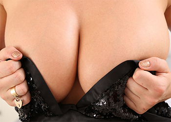 Stacey Poole Black Dress Date Only Tease