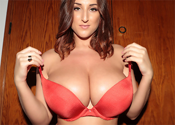 Stacey Poole Red Lingerie Tits and Ass