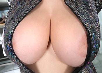 Tessa Fowler Sparkle Jumpsuit Tits