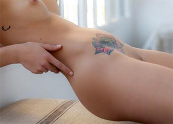 Toni Maria has tattoos