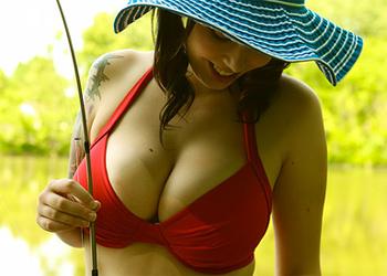 Tovi Red Bikini Curves