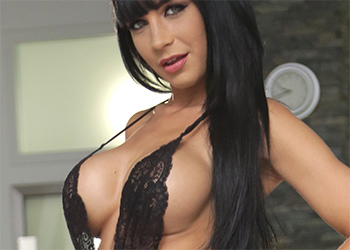 Valentina Ricci Black Lace Tits