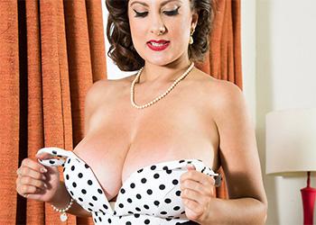 Valory Irene busty secretary