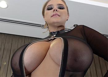 Vivian Blush large breasted domina