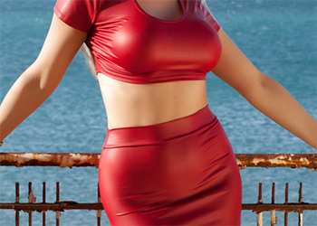 Yasmin Tight Red Dress