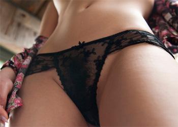 Yui Azusa Sheer Panties