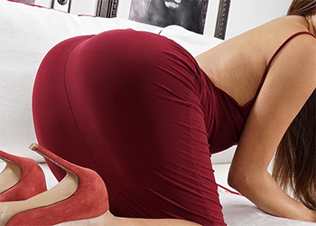 Zaya Cassidy Red Dress